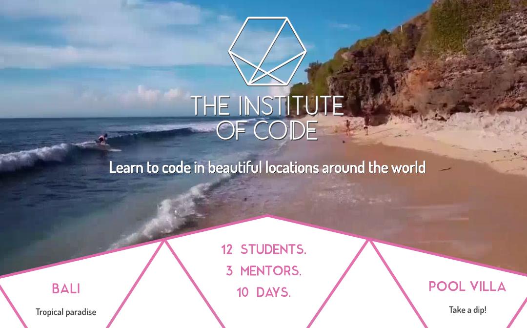 The Institute of Code